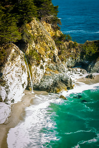 McWay Falls in Julia Pfeiffer State Park, Big Sur, California