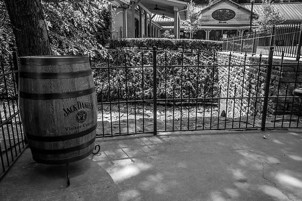 Jack Daniels Distillery 2 B&W